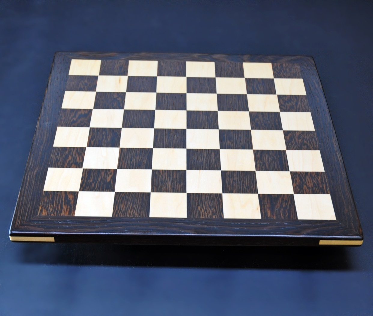 Wenge and Curly Maple Analysis Chess Board img 2
