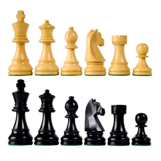 Picture of Chess Pieces - Wood 2.5 inch king