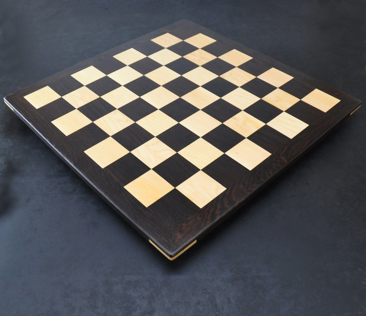 Picture of Wenge and Maple Chess Board with 2 inch squares