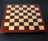 Padauk and Maple Chessboard 2¼ inch squares image (2)