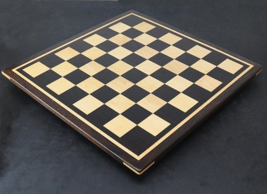 Wenge Chess Board with 2½ inch squares inlay frame