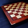 Padauk and Maple Chessboard 2¼ inch squares image (5)