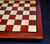 Padauk and Maple Chessboard 2¼ inch squares image (4)