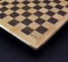 Walnut and Maple Chess Board with Curly Maple Frame 2 inch squares image 4