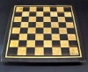Wenge and Curly Maple Chess Board with inlay frame image 3