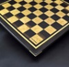 Wenge and Curly Maple Chess Board with inlay frame image 4