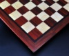 Padauk and Maple Chessboard 2½ inch squares and Wenge border image 2
