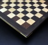 peruvian walnut and curly maple chess board 14 inch image 3