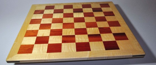 Bloodwood and Curly Maple with Curly Maple frame image 1